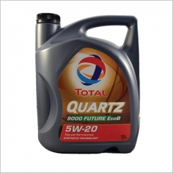 روغن موتور 4 لیتری TOTAL QURTZ 5W20 9000
