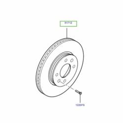 دیسک ترمز چرخ جلو MOBIS