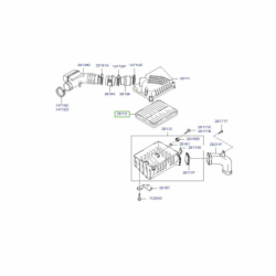 فیلتر هوا موتور MOBIS