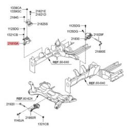 دسته موتور راست MOBIS